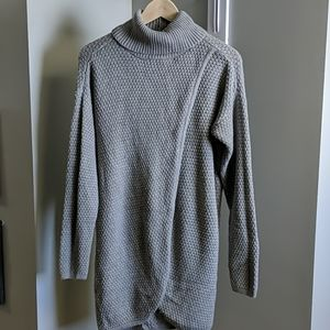 Great Northwest Indigo Tunic Length Sweater